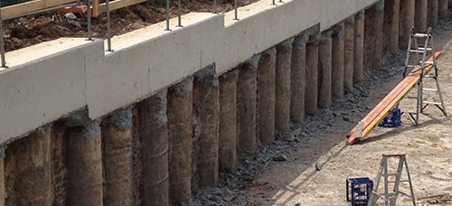 Sheet Pile Capping Beam Formwork Sheet Pile Capping Beam