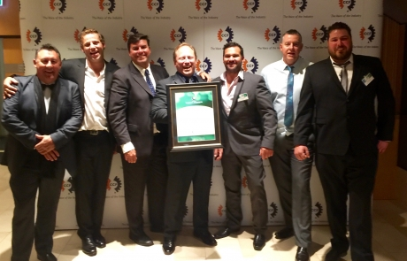 PCA are recognized for the best civil project in NSW