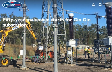 Fifty-year makeover starts for Gin Gin substation