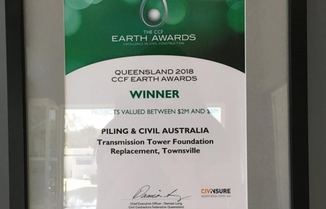 PCA awarded CCF Queensland Earth Award