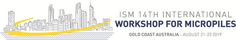 Click here for more information on the ISM 14th International Workshop for Micropiles