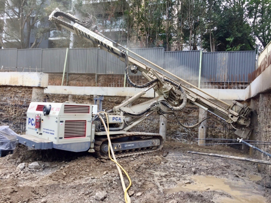 Earth Retention | PCA Contracting